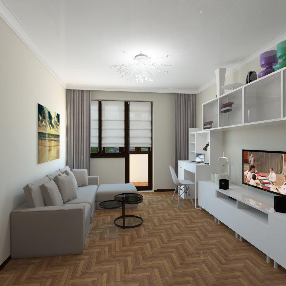 ремонт однокомнатных квартир фото дизайн ушел современный